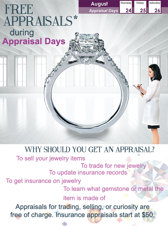 Siegel Jewelers Appraisal Days