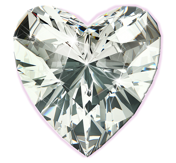 heart diamond Siegel Jewelers