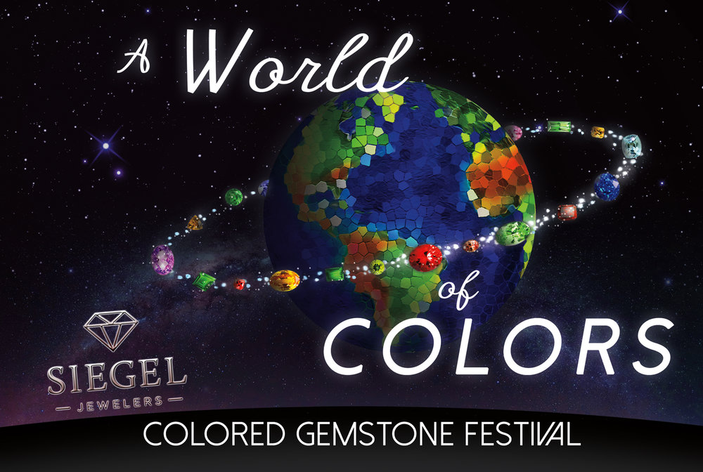 Siegel Jewelers World of Color Gemstones