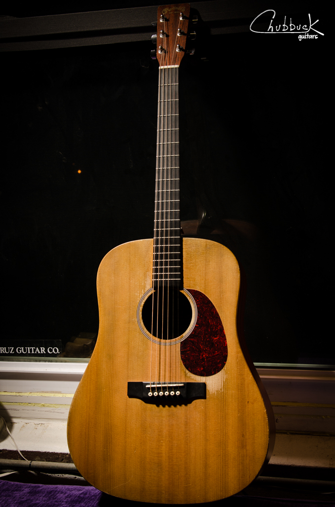 2003 Martin DX-1 :: partial refret.