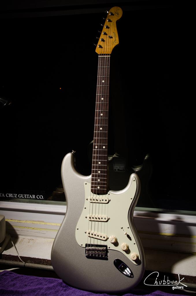 2010 Fender Robert Cray Strat :: setup