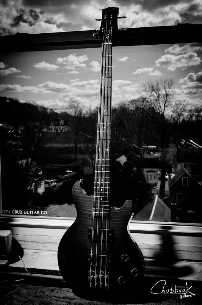 2007 Gibson Les Paul Doublecut Money Bass :: setup.