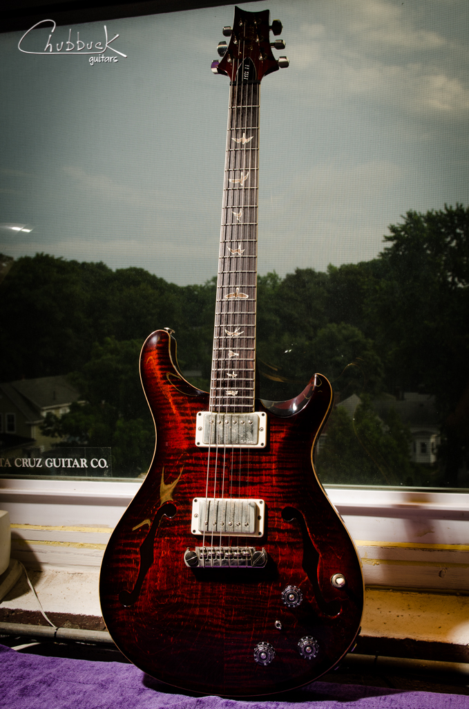PRS HB II holllowbody :: clean and setup