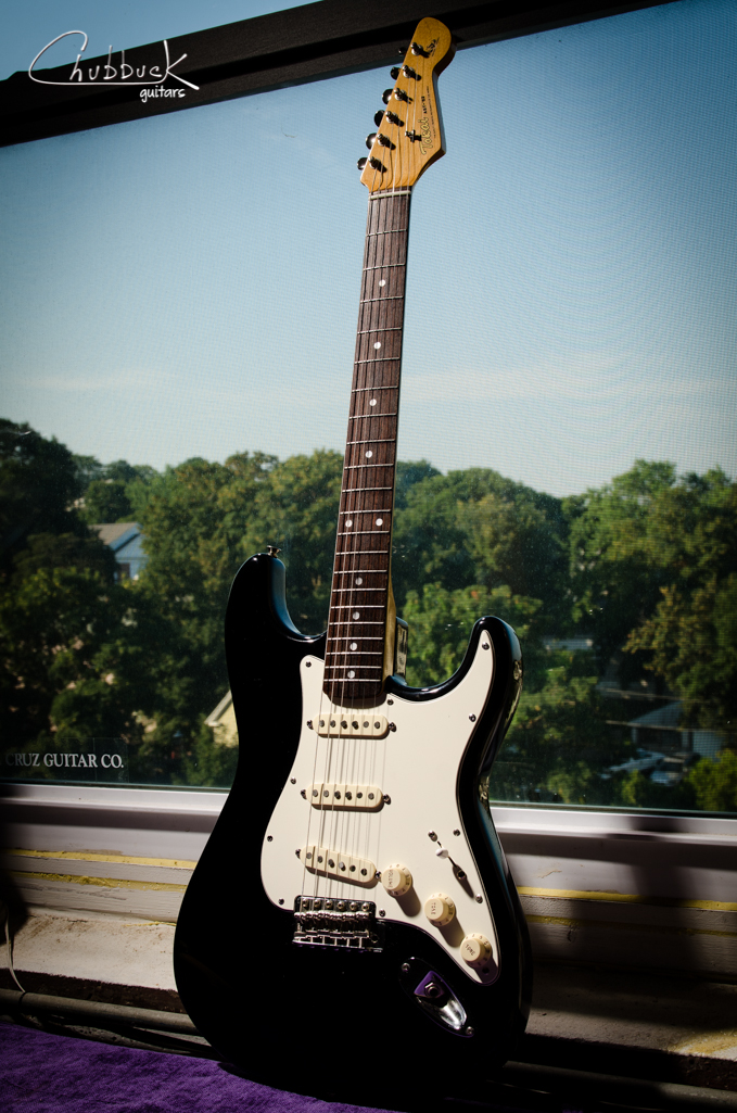 Tokai AST-'62 Strat :: new bone nut and setup.