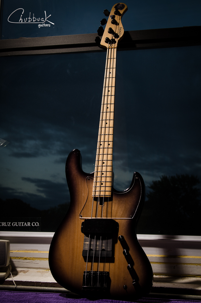 Sadowsky Jazz Bass :: recarve neck and finish with Tung Oil