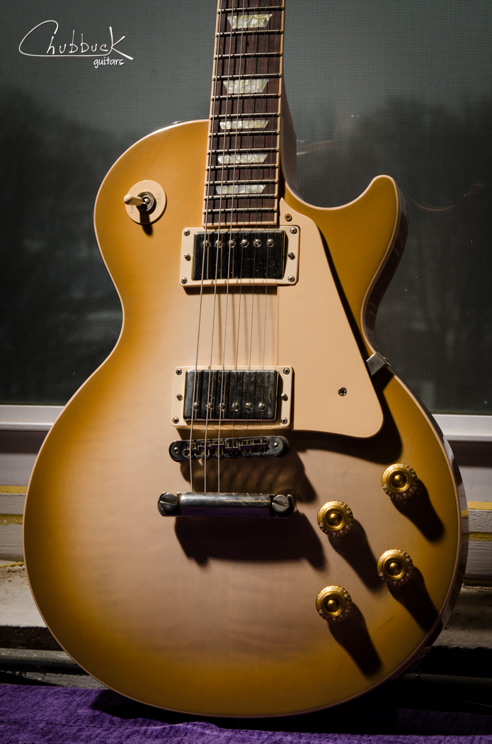 2004 Gibson Les Paul :: replaced volume and tone pots for the bridge pickup and set up.