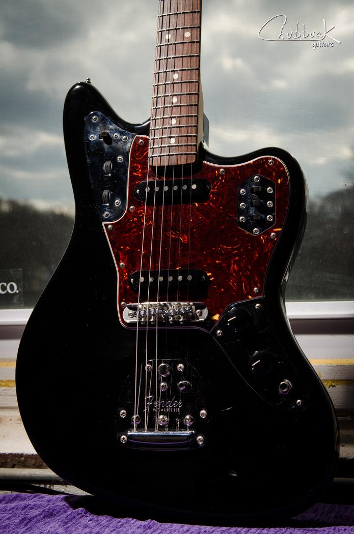 2008 Fender Jaguar :: new    Mastery bridge    and set up.