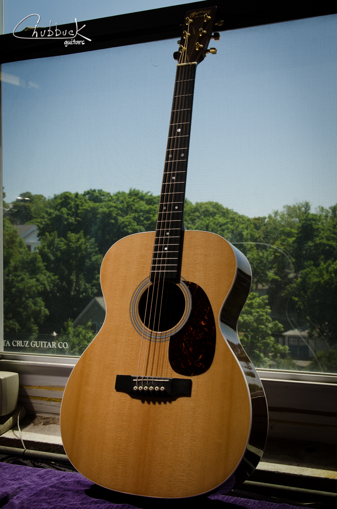 2012 Martin Custom :: set up.