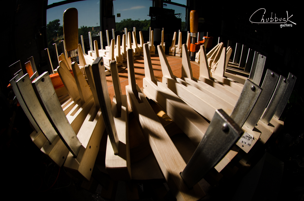 Chubbuck Rogue 005 :: body glue-up.