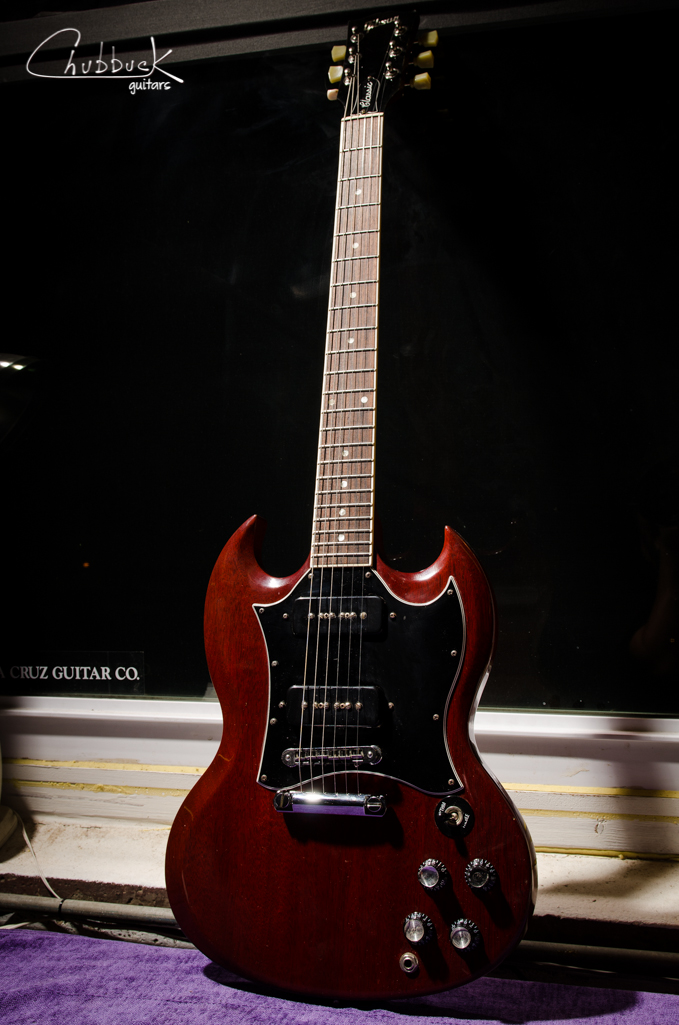 2006 Gibson SG Classic P90's :: Rob Liani of Jammin' Toast. Level / dress frets and setup.