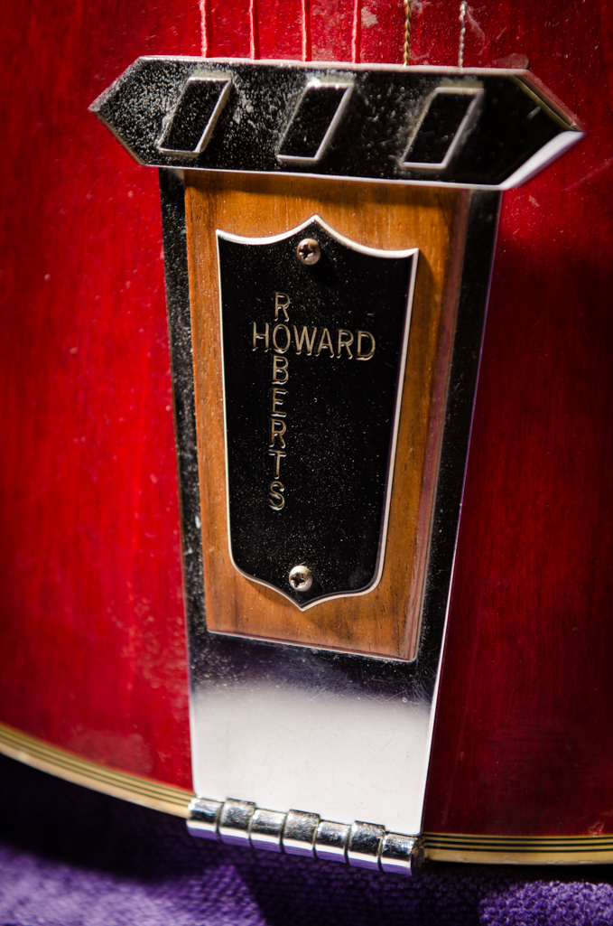 """Howard Roberts"" tailpiece."