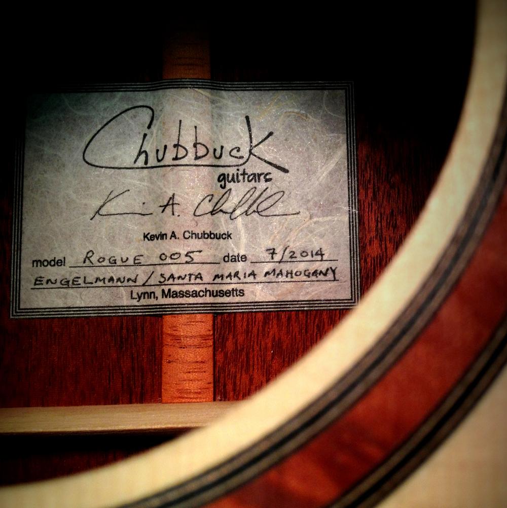 2014 Chubbuck Rogue 005 in progress.