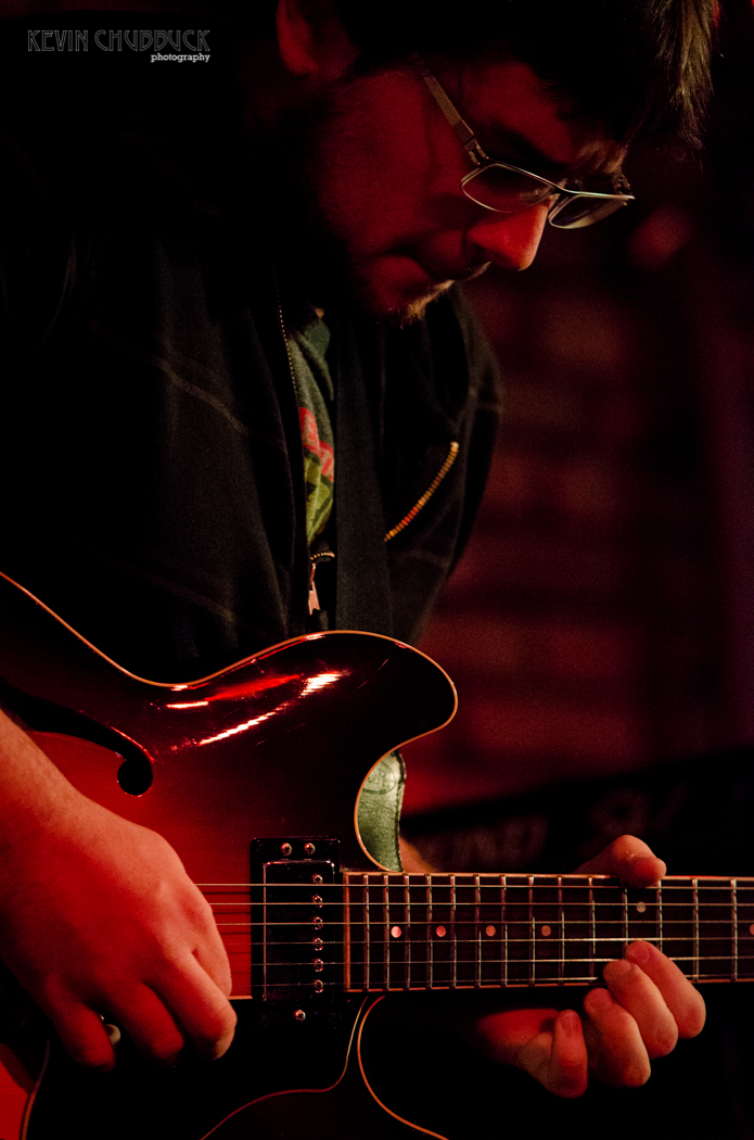 Graham Kelly, guitarist of the band Dig playing Johnny D's in Somerville, MA. [October 13, 2013]