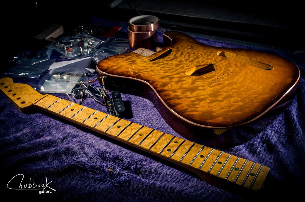 on the bench — Chubbuck Guitars :: making & repairing