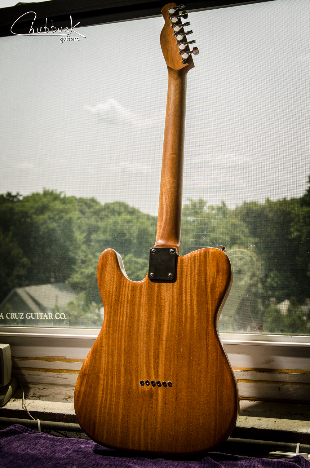 Neck Carve Rewire 2014 Jw Van Tele 91 Lbs Chubbuck Guitars Guitar Rewiring A Custom In For Replacement 6 Way Freeway Switch And Add Master Volume Recarve Mmmm P90s