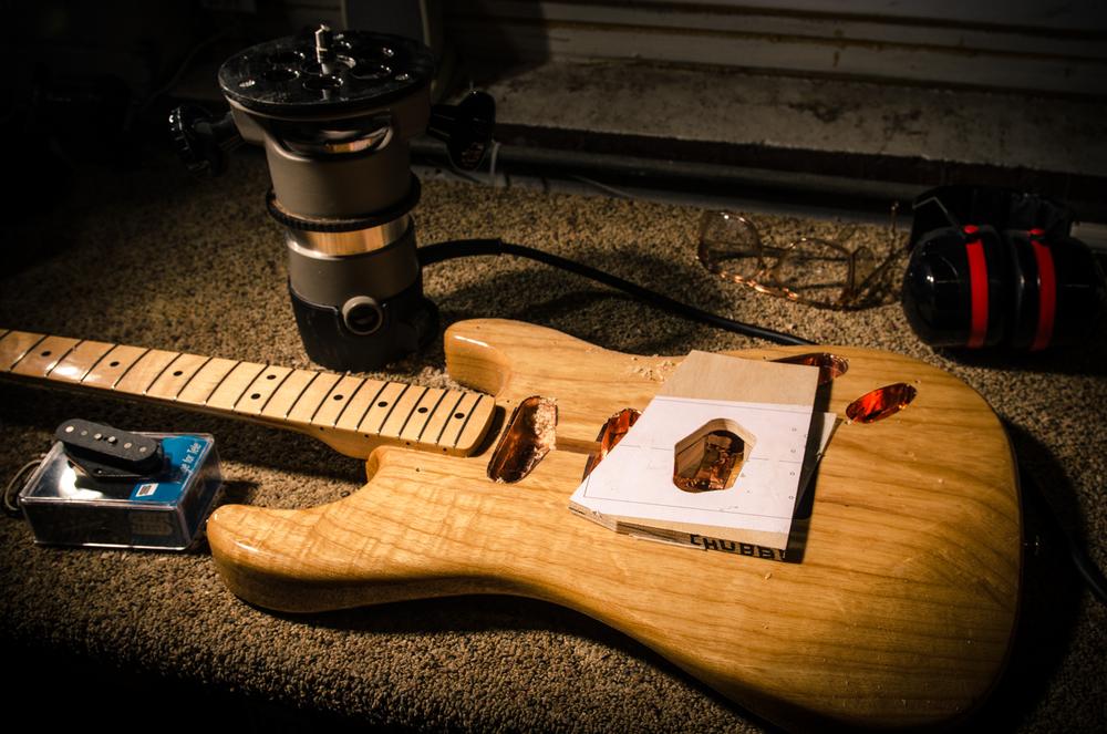 Lowell George Setup 2001 Fender Stratocaster 75 Lbs Chubbuck