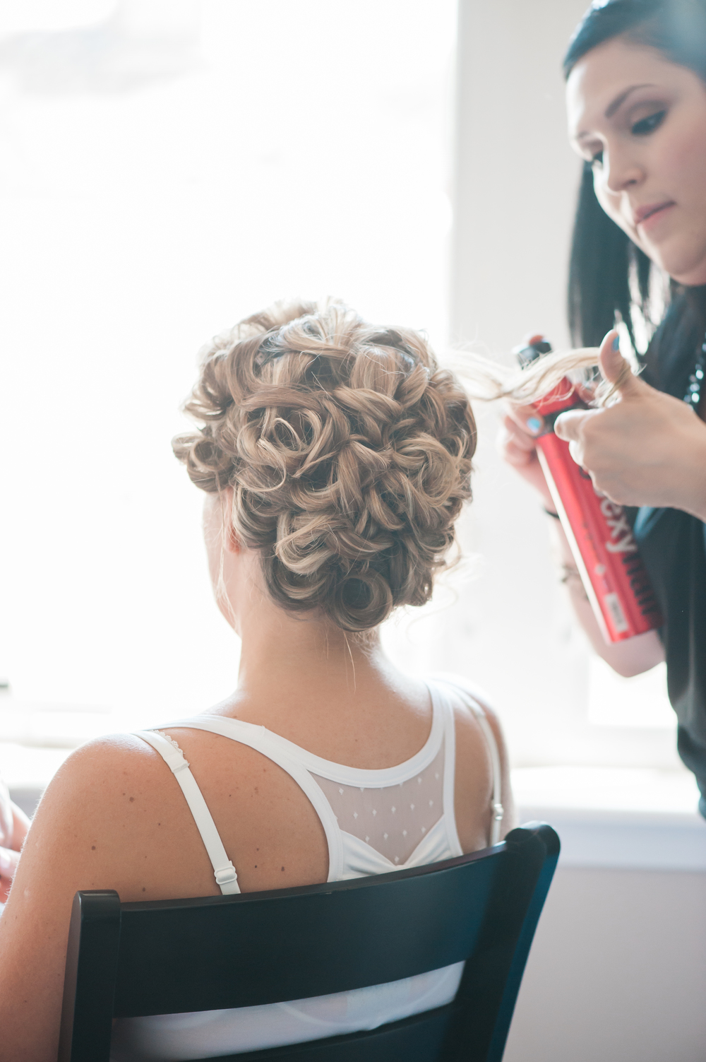 Bev Esquivel | Bridal Hair Chicago Suburbs  Agnes Rasek Photography