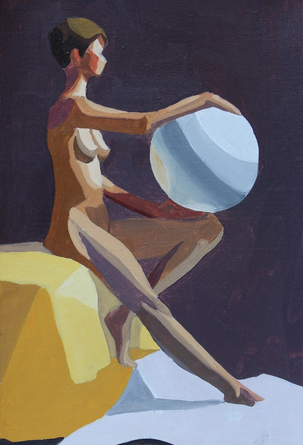 oil on linen  10 x 7 inches  2015