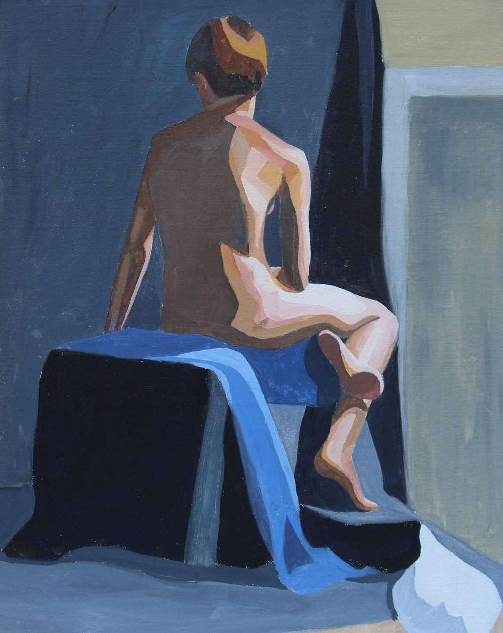 oil on linen  13 x 11 inches  2015