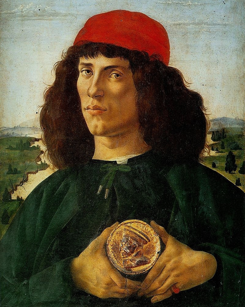 'Portrait of a Man with a Medal of Cosimo the Elder'