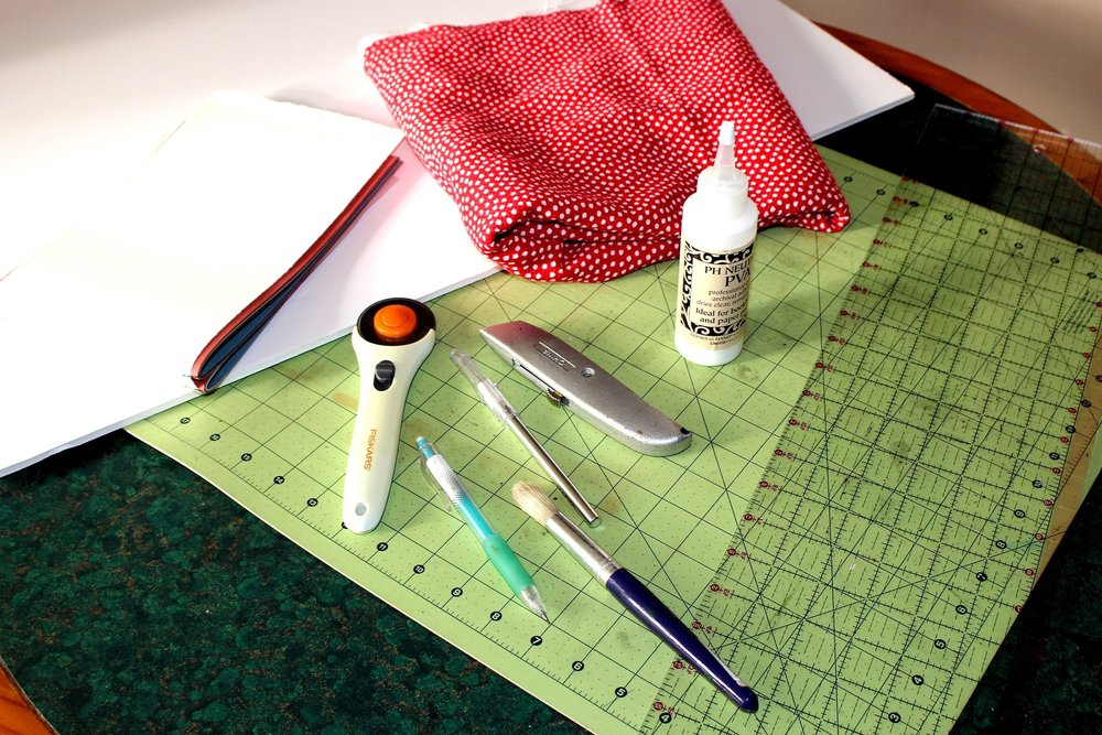 bookmaking and bookbinding supplies