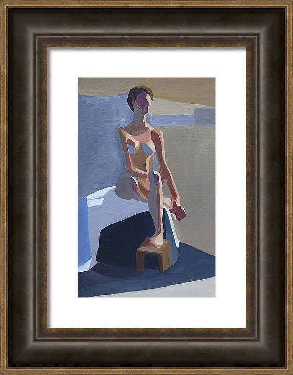 fine art oil figure painting