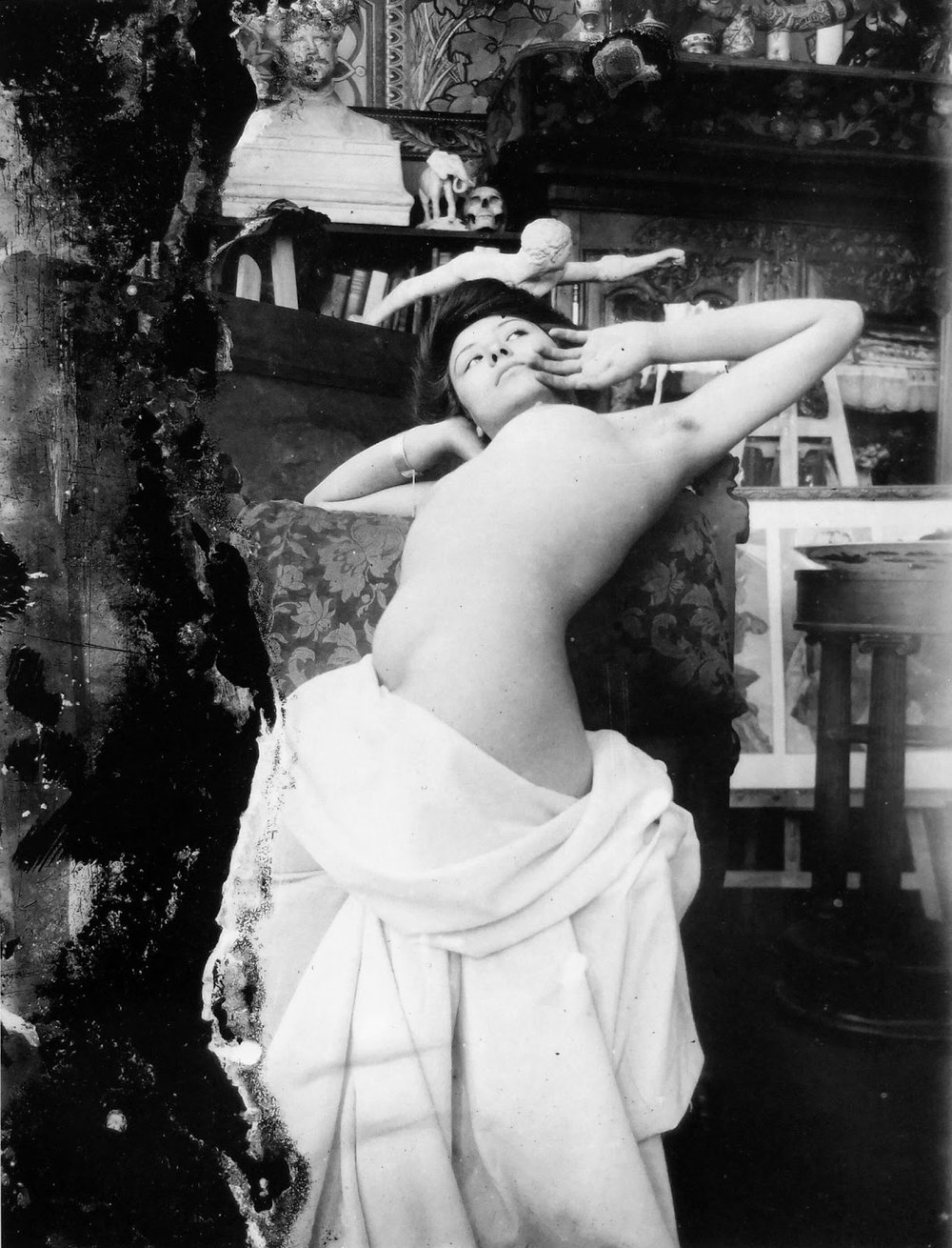 1902-03c Mucha's studio, Rue du Val de Grâce, Paris © Mucha Trust.jpg