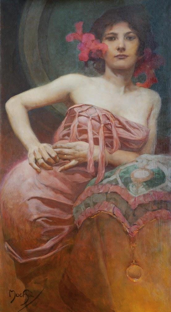 Retrato de una dama, Alfons Mucha.jpg