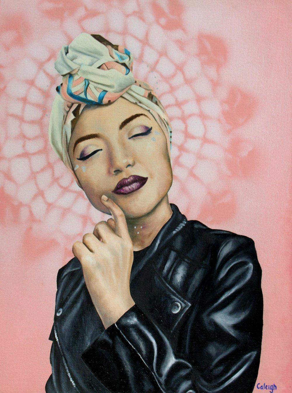 hijab fashion portrait