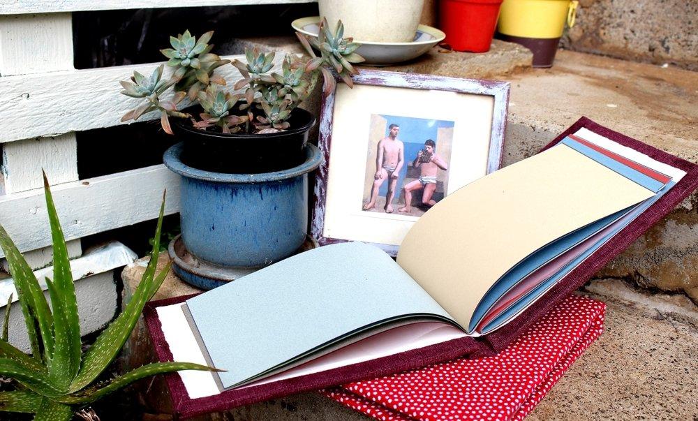 handmade sketchbook journal tutorial