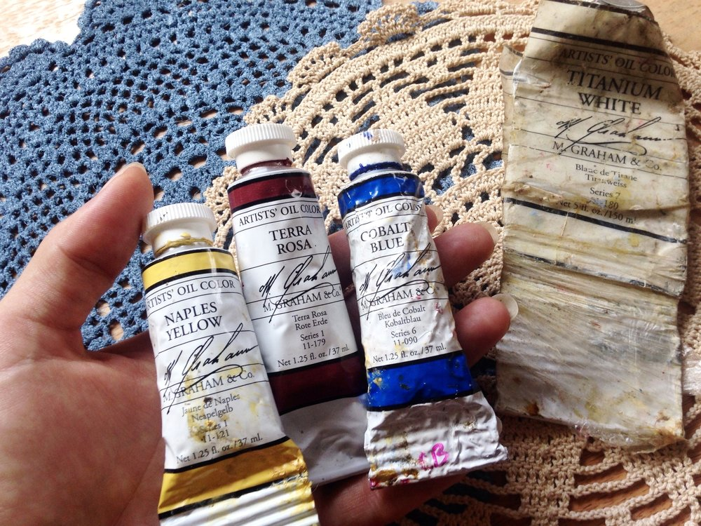 m. graham oil paint review