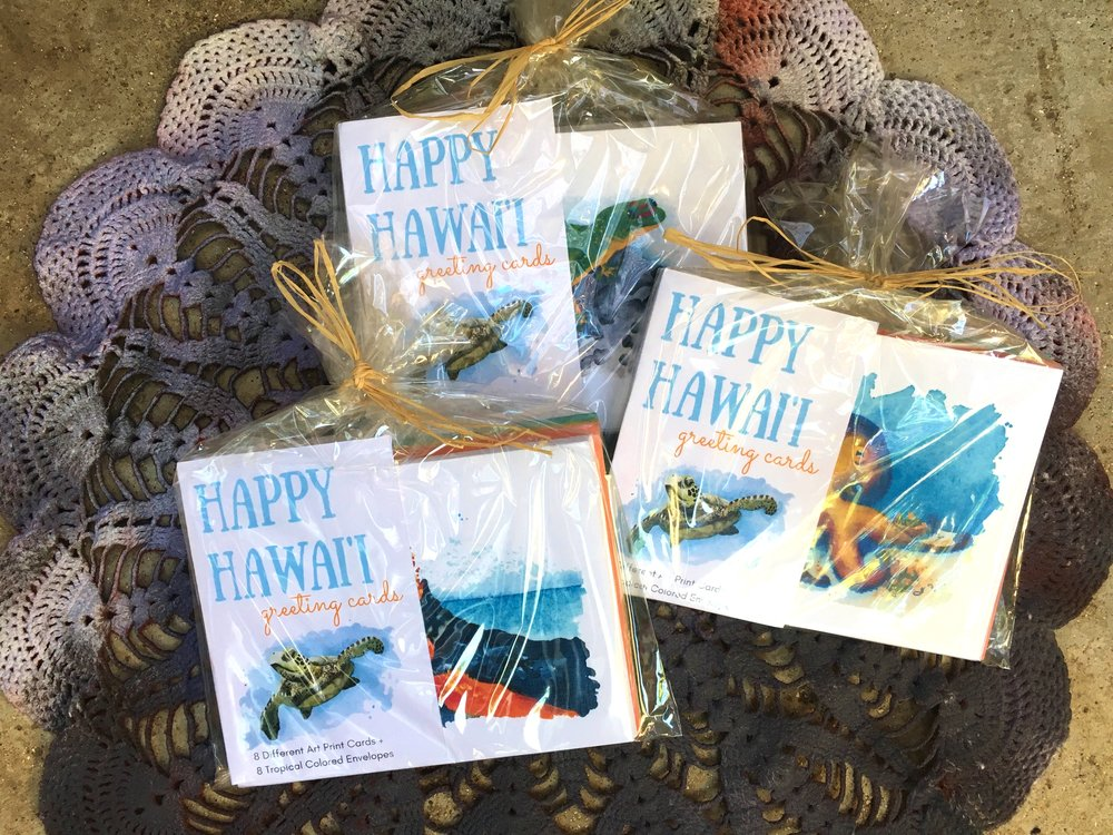 happy hawaii greeting cards