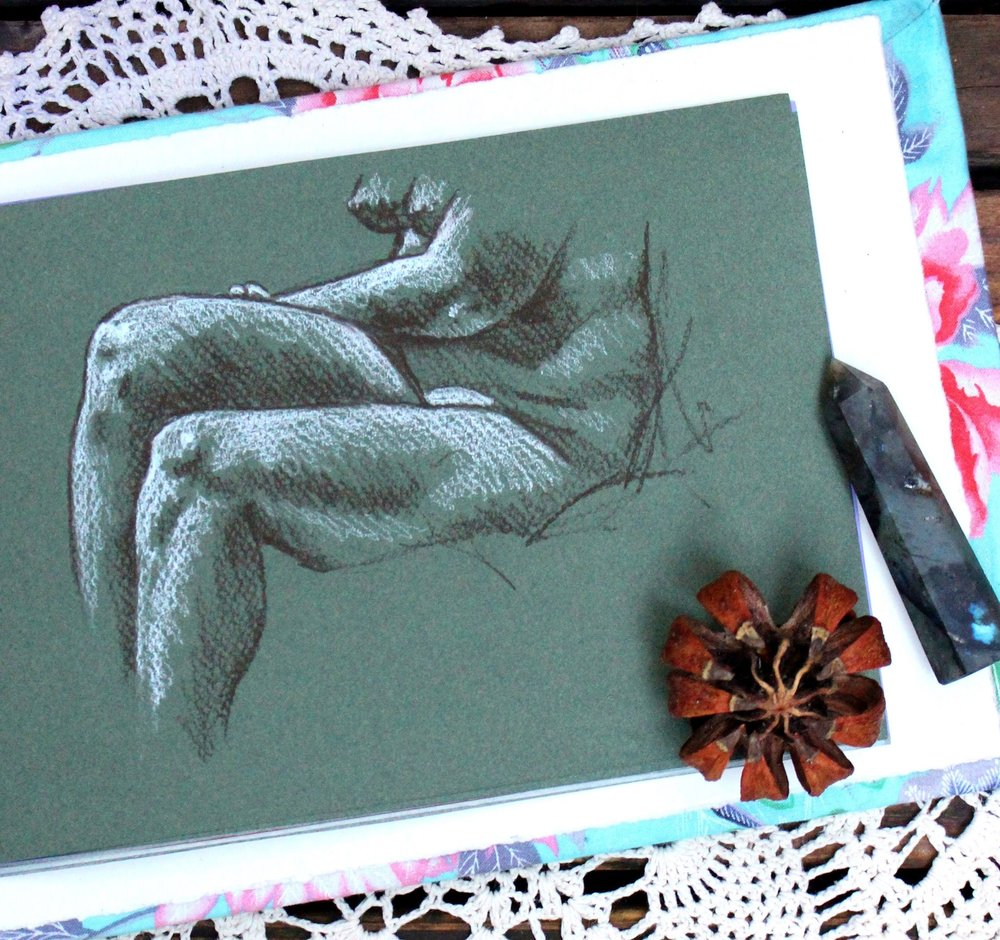 figure drawing sketchbook tour
