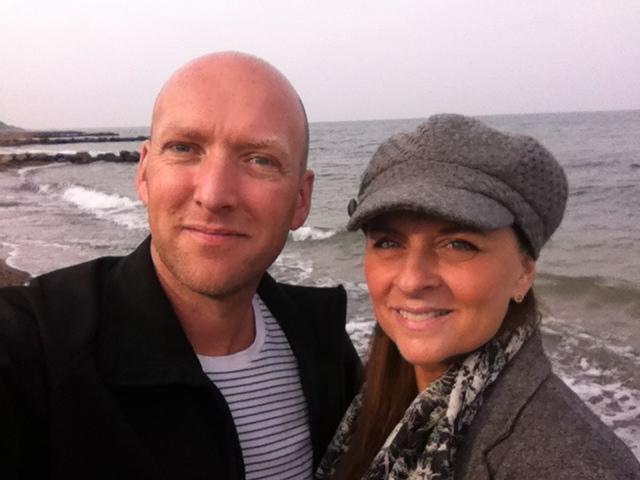 Udviklingsdag om Katrines fremtid. Den foregår naturligvis på hendes strand.