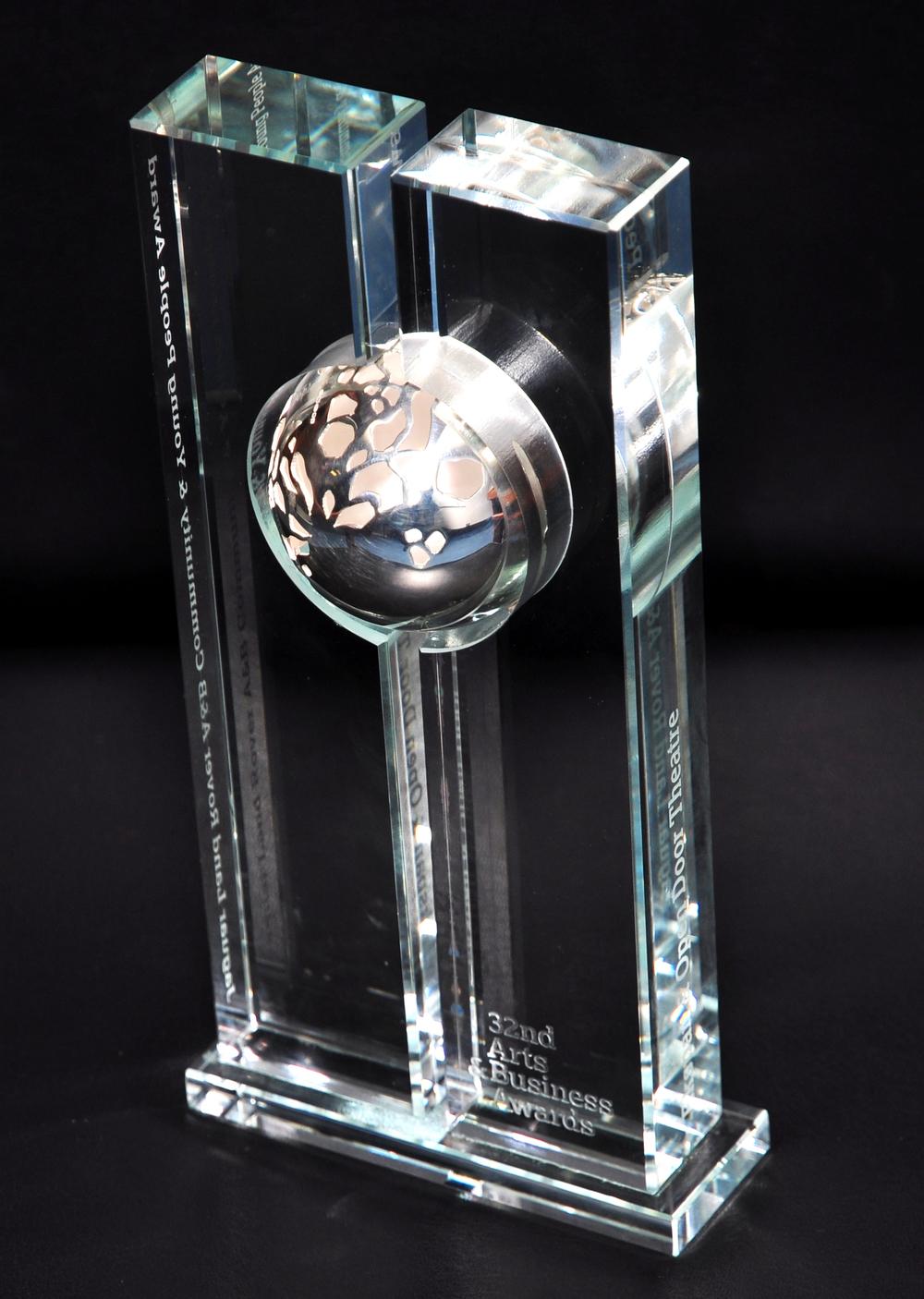 Jaguar Land Rover Arts & Business Community & Young People Award. OPEN DOOR THEATRE COMPANY & EKSPAN Ltd 2010