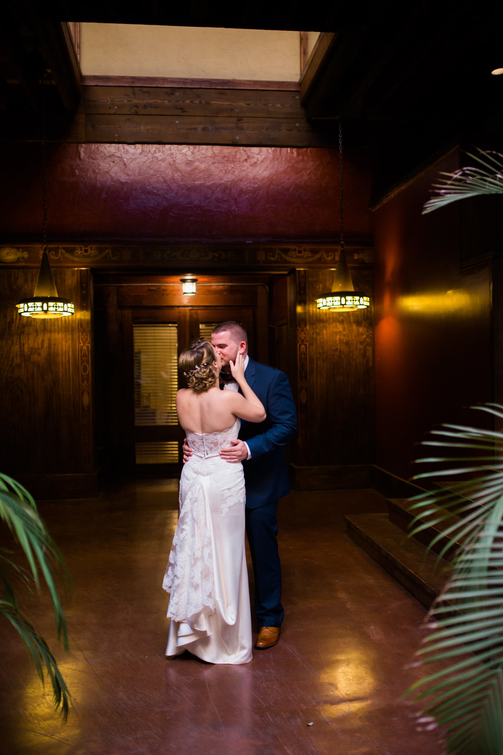 Wedding at the Trolley Station in Galveston, TX | Houston and Galveston Wedding Coordinators