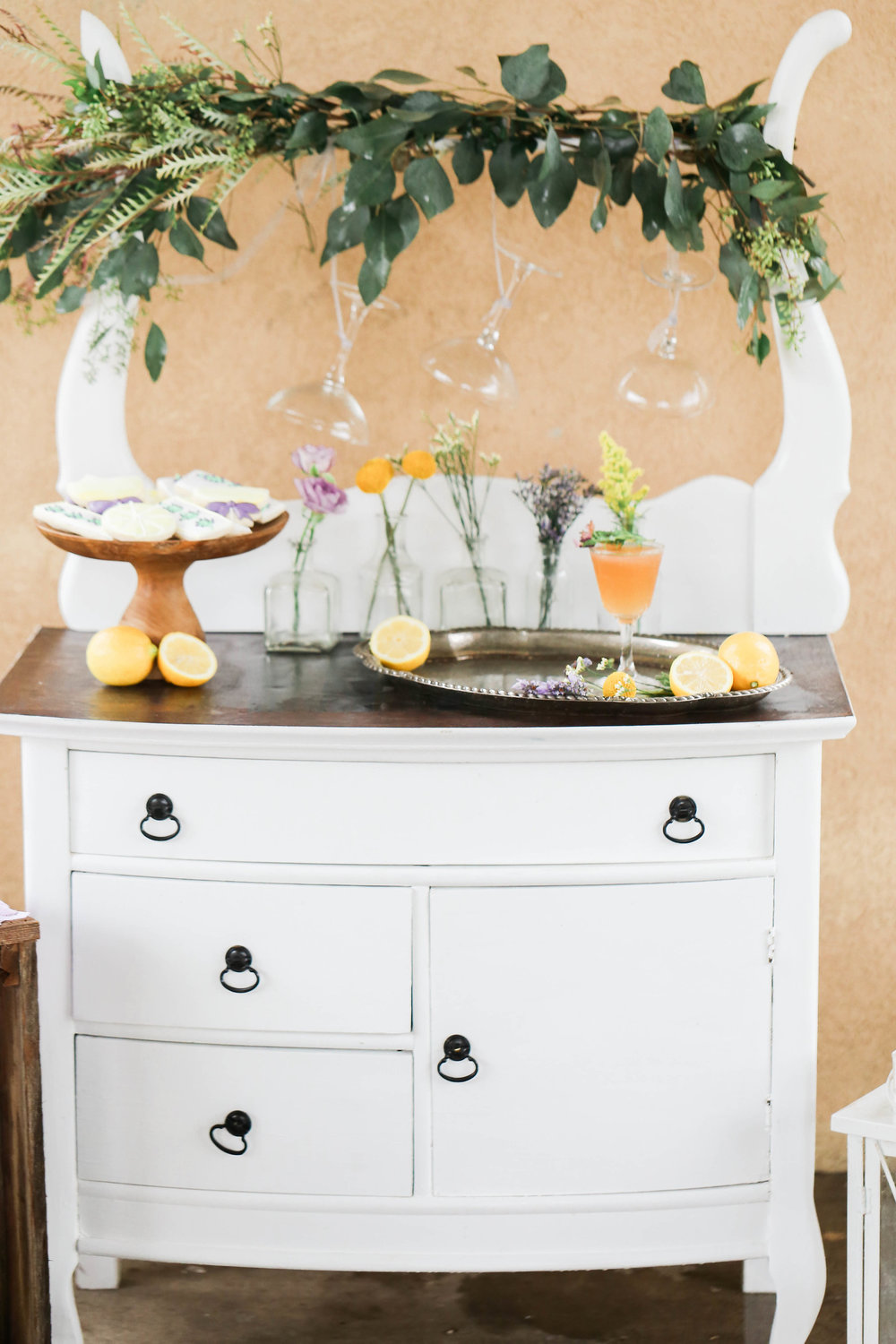 Bridal Shower Inspiration | Lavender and Lemons| Bridal Shower Drinks