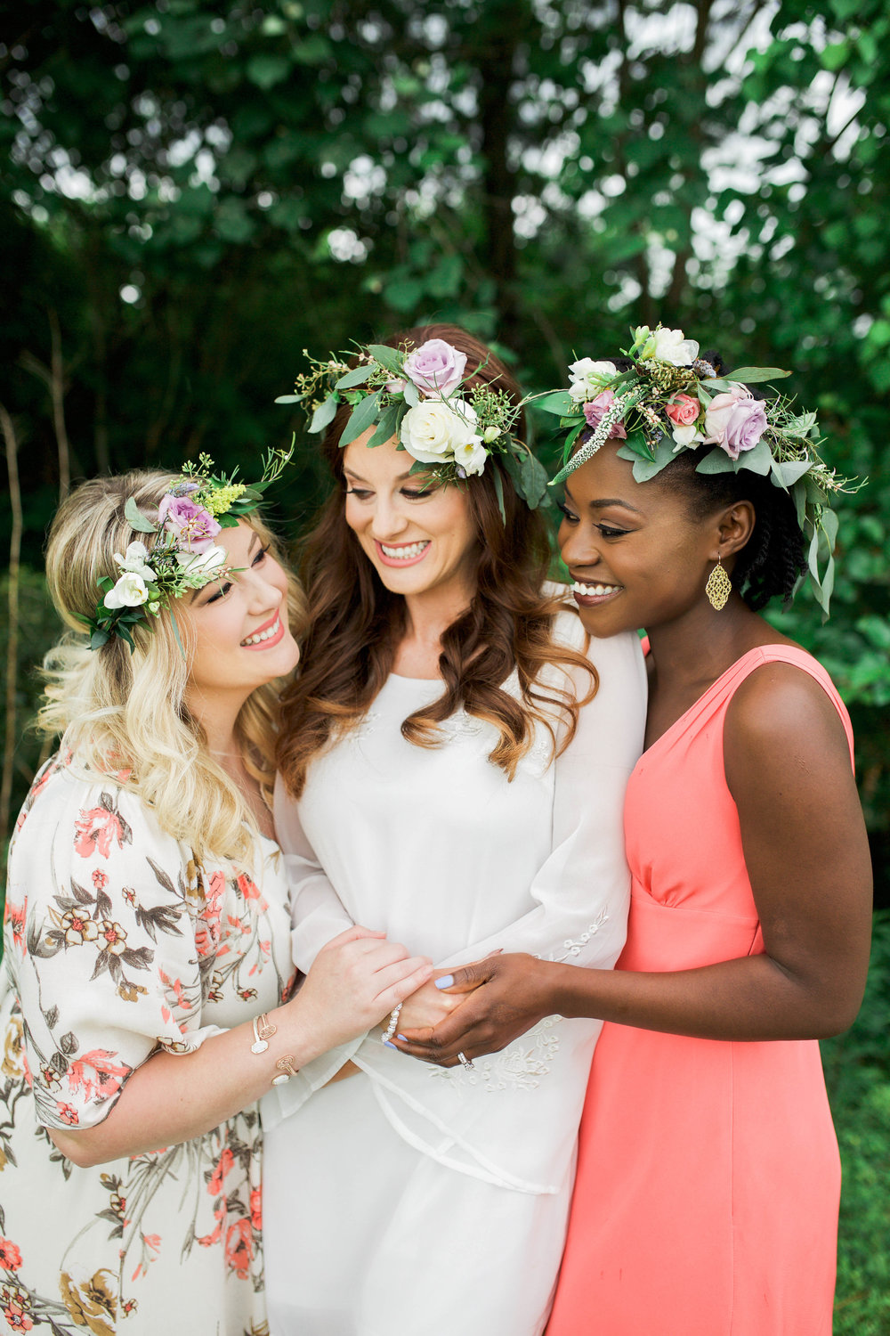 Bridal Shower Inspiration | Flower Crowns and Boozy Cocktails | Lavender and Lemons