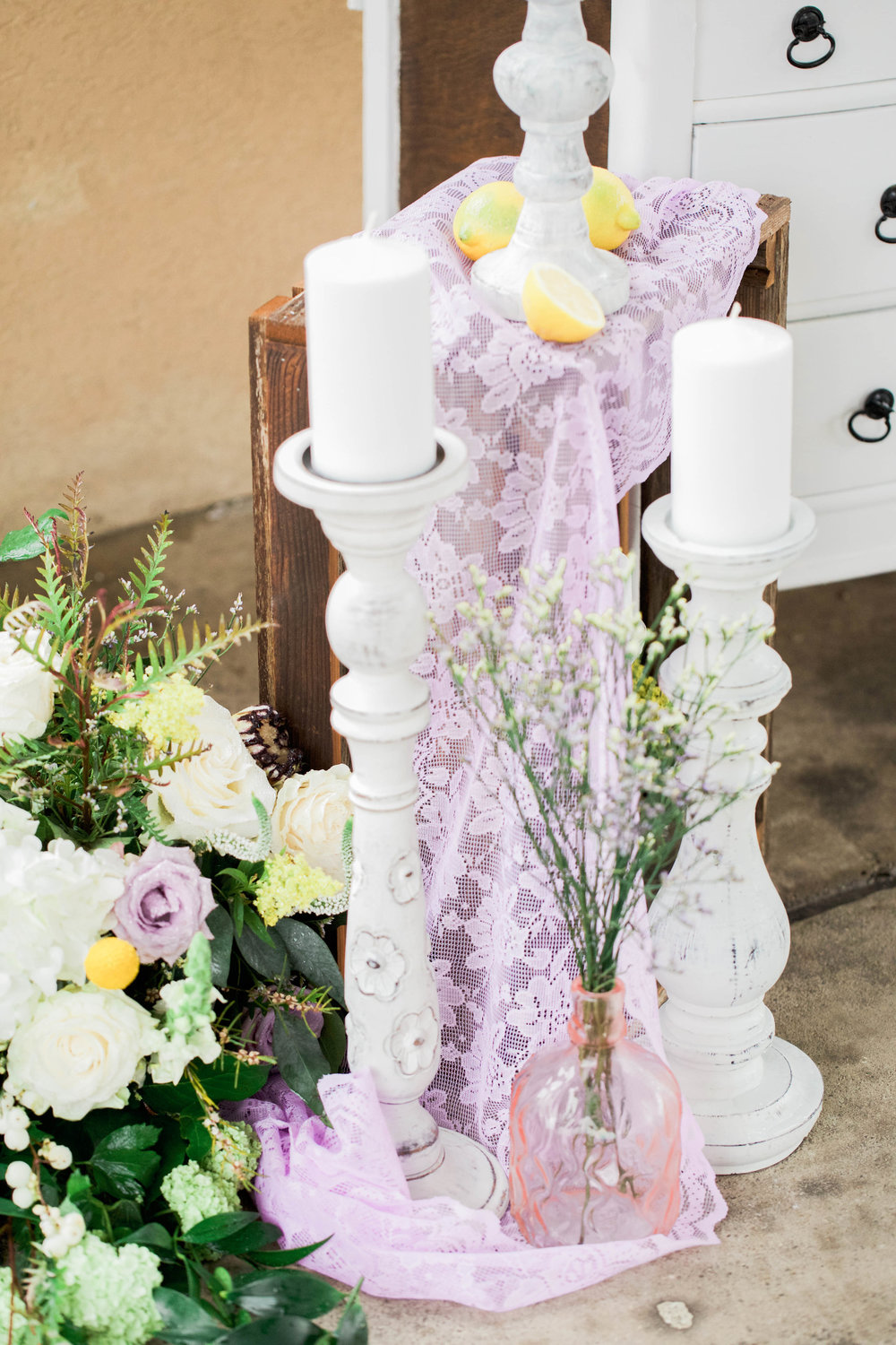 Purple and Yellow Bridal Shower Inspo | Lavender and Lemons