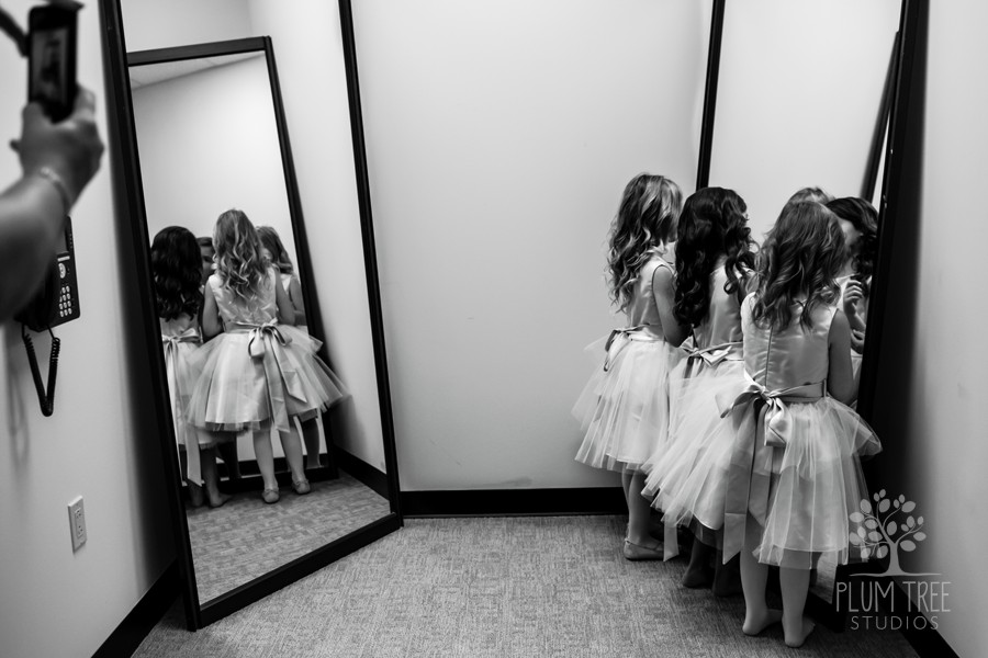 Wedding Ceremony in Houston | Flower Girls
