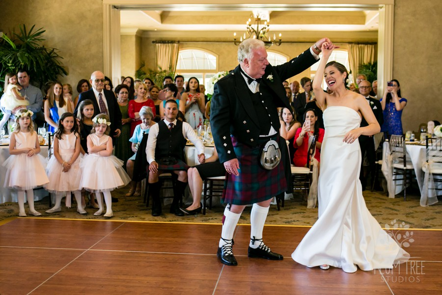 Father Daughter dance at Royal Oaks Country Club | Houston Wedding Planners