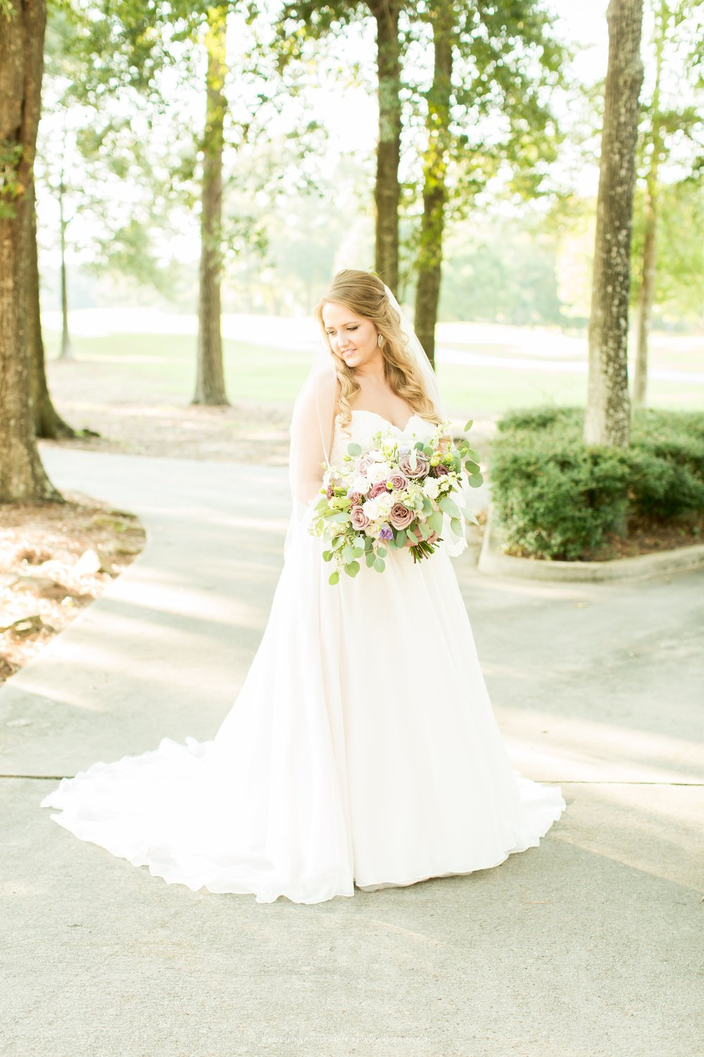 Bridal Portraits in the Woodlands | Houston Wedding Planner