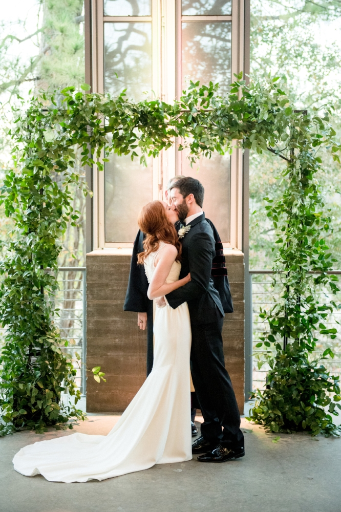 Ceremony Arch | Married at the Dunlavy, Houston