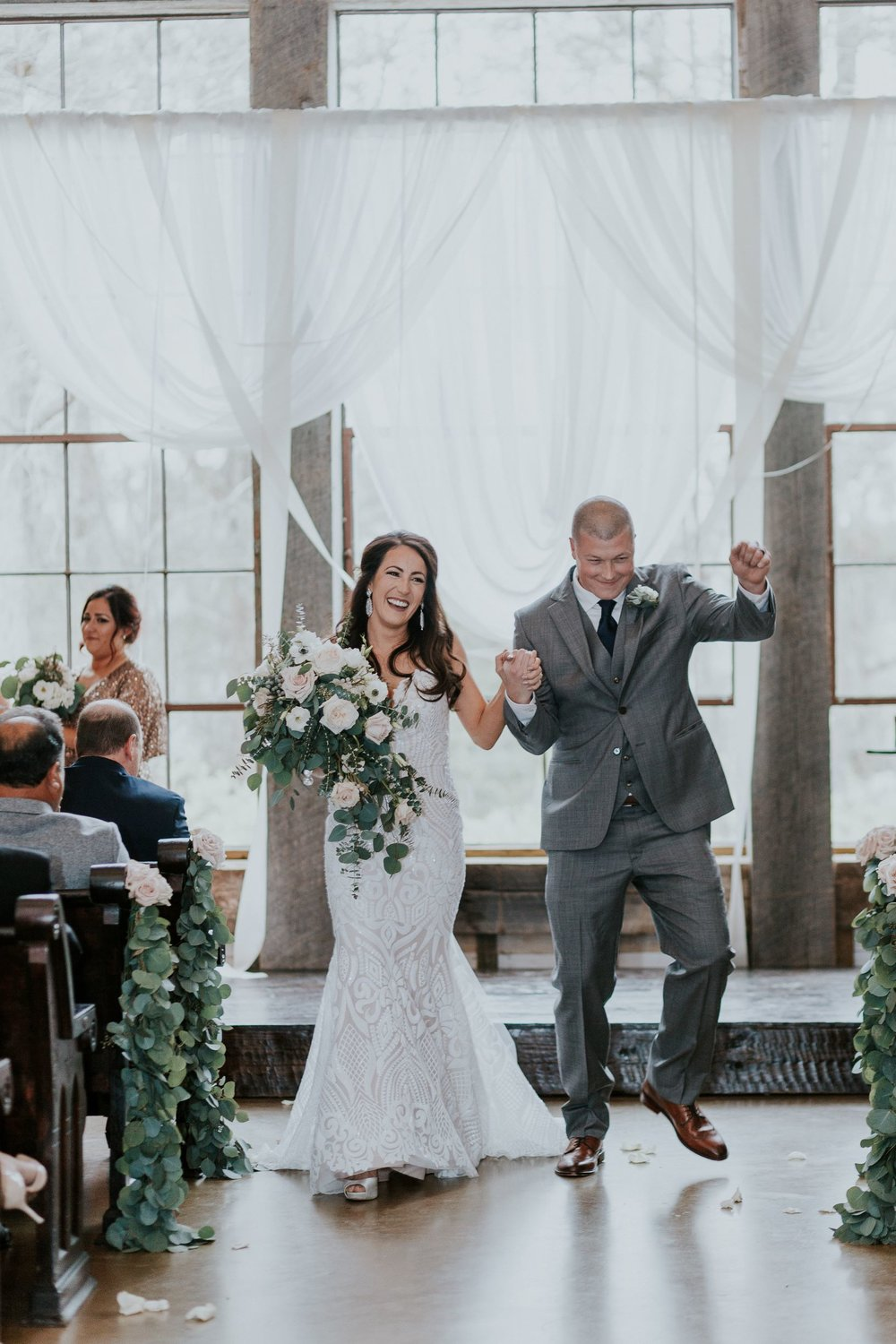 Finally Married|Big Sky Barn Wedding|Wedding Planners in Houston