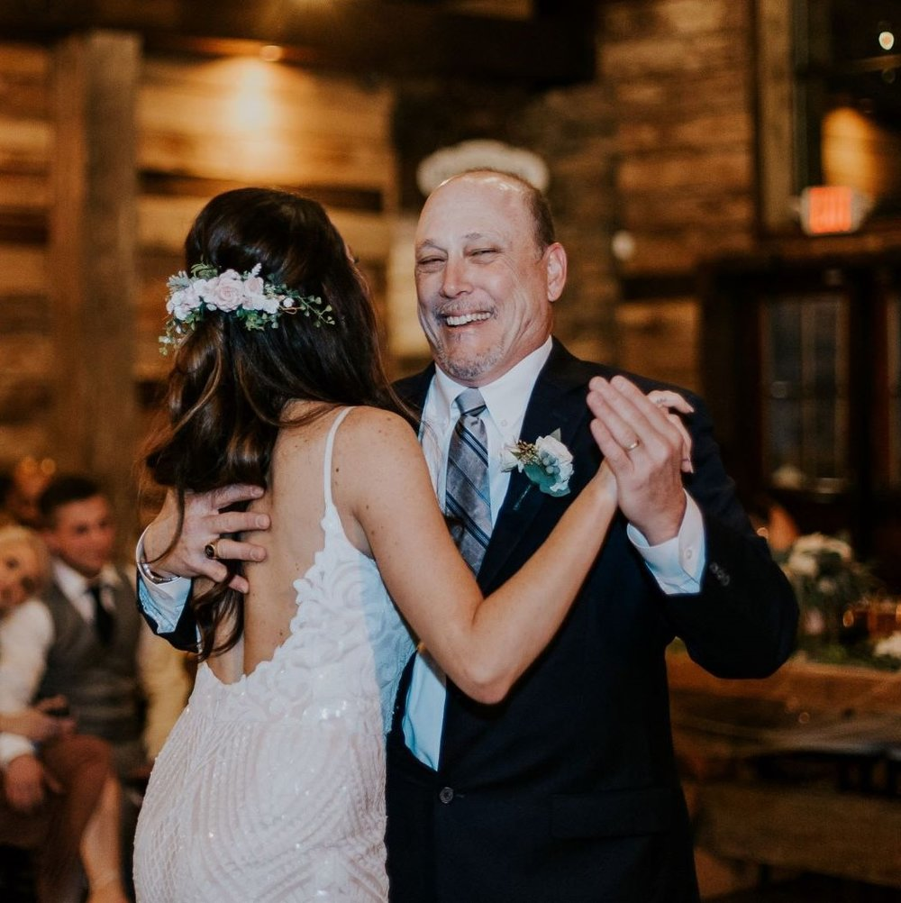Wedding at Big Sky Barn|Father Daughter Dance|Wedding Planner in Houston