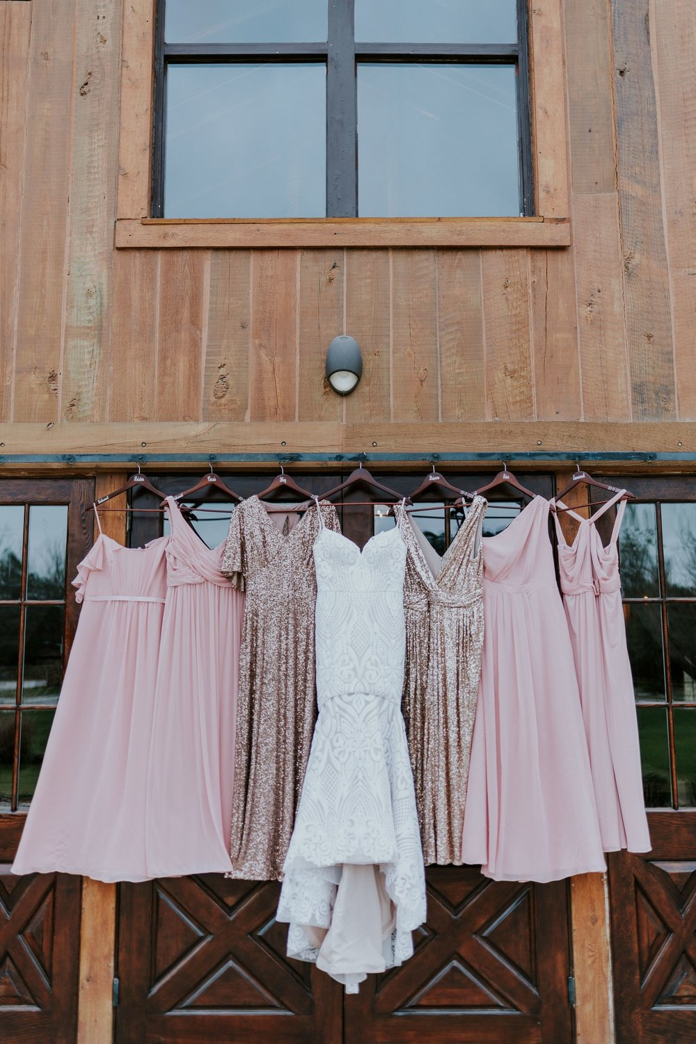 Getting Ready| Bridesmaids Dress Shot| Wedding at Big Sky Barn|Houston Wedding Planners