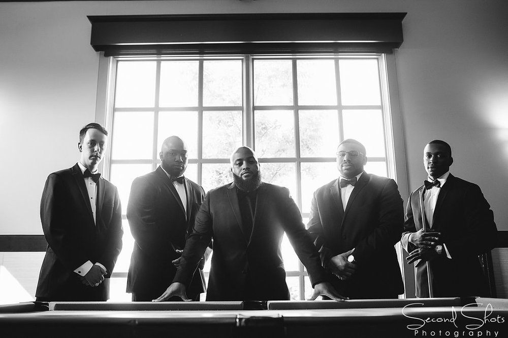 Groom and Groomsmen Photo|Noah's Event Venue|Houston wedding Planner