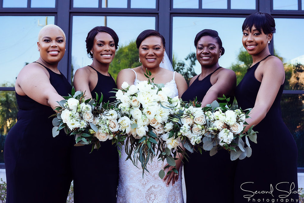 Ivory and Black Formal Wedding | Sugarland Weddings