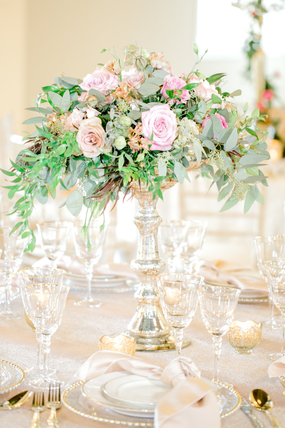 Pink and ivory Wedding floral | Texas weddings | The Bloom Room