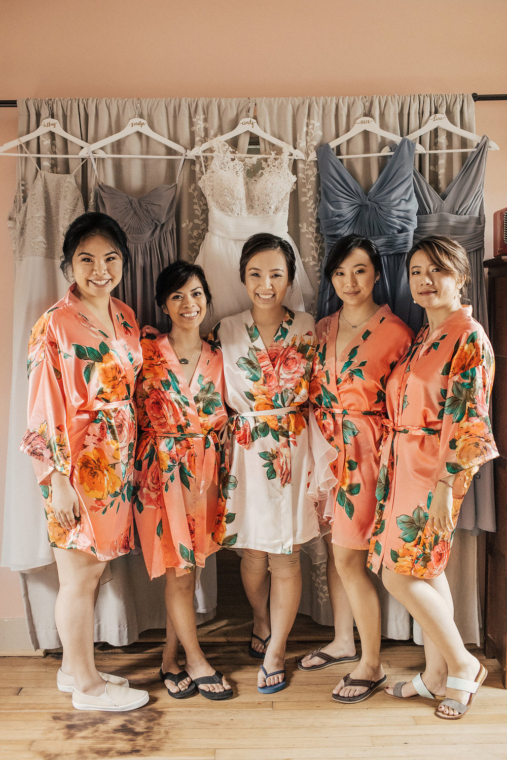 Bridesmaids Robes | Museum District Houston | Weddings
